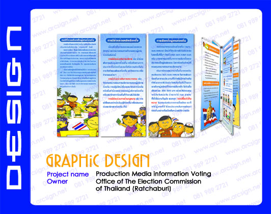 ตัวอย่างงานออกแบบ นิทรรศการ 1